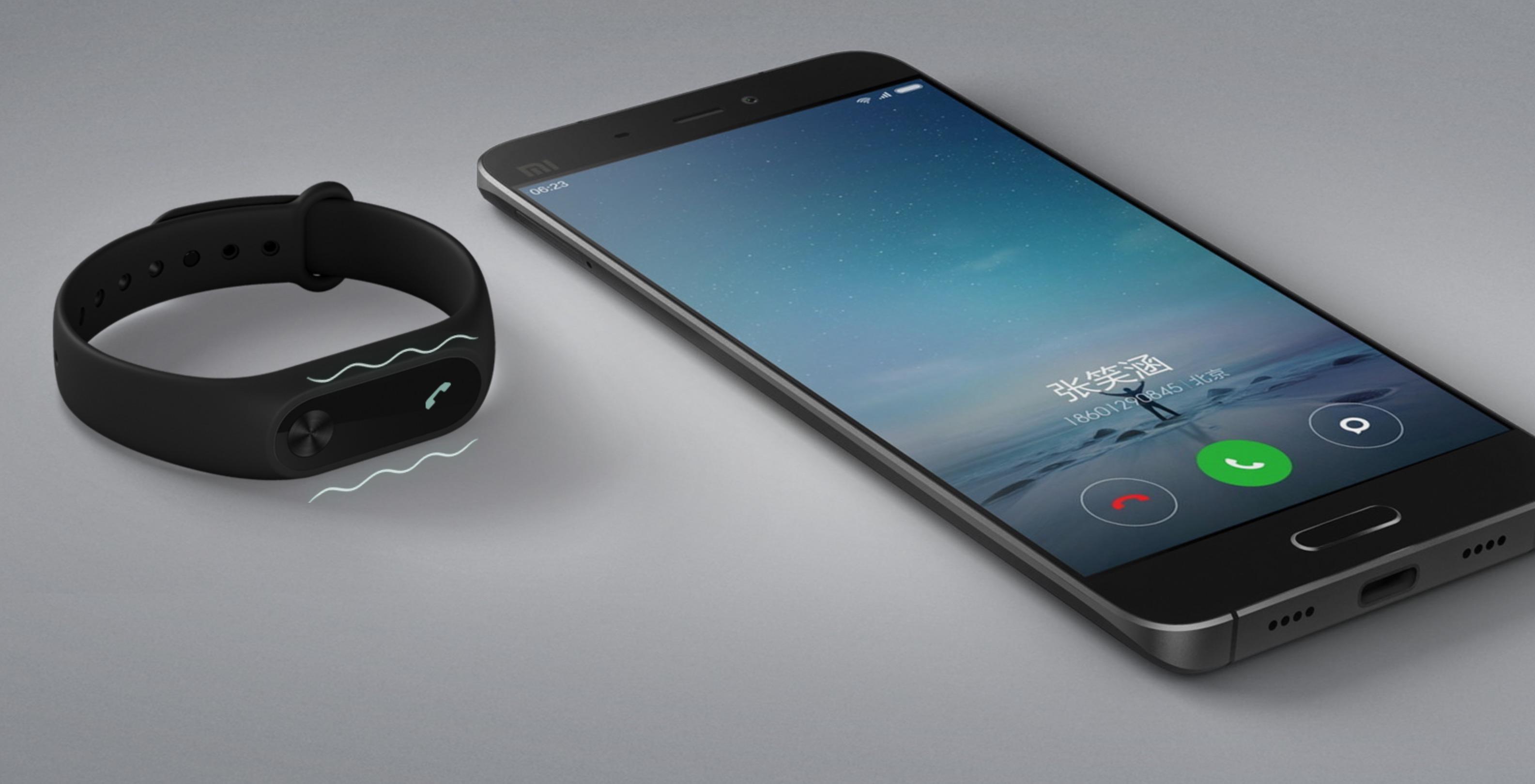 Xiaomi Mi Band 2 notifiche