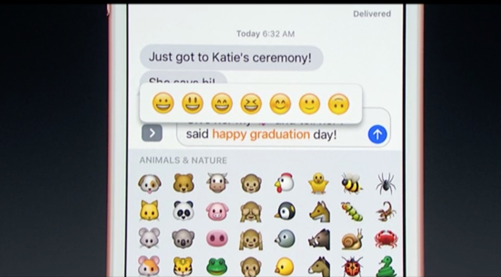 emoji tastiera Apple