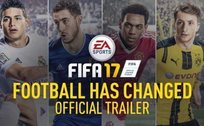 FIFA 17: trailer ufficiale e tutto ciò che c'è da sapere