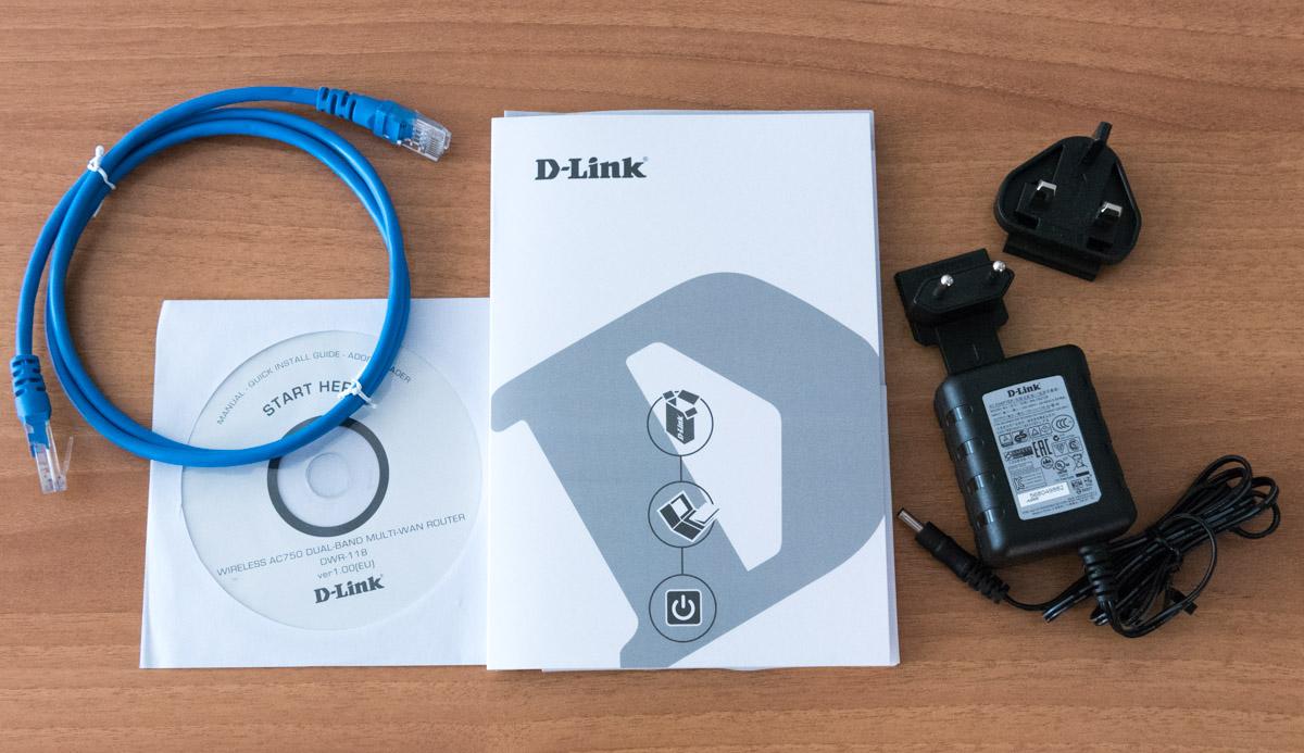 Accessori D Link DWR 118 AC750