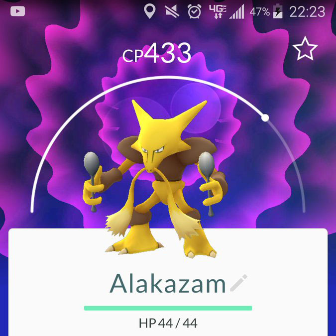 Alkazam Pokemon Go