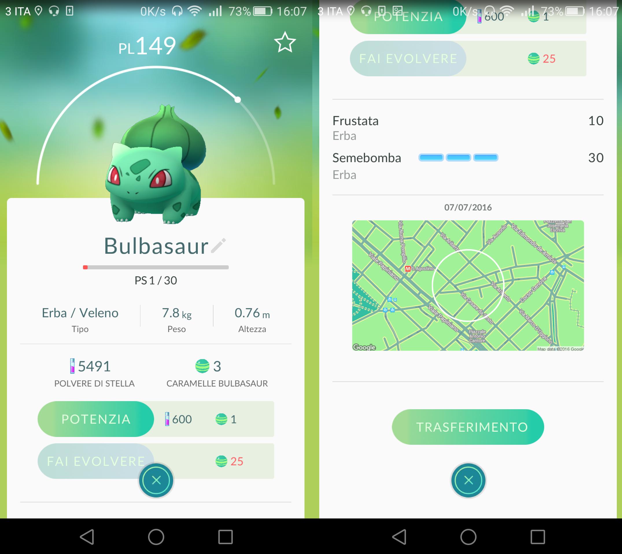Pokemon Go: come fare evolvere i Pokemon