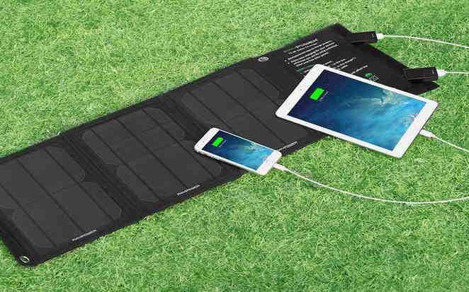 Caricabatterie Solare Portatile RAVPower