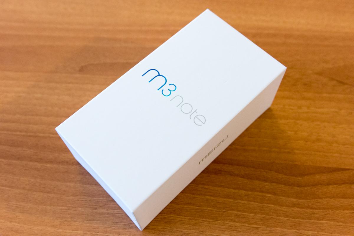 Confezione Meizu M3 Note