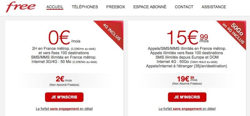 Operatore Free in Italia con la sua tariffa quasi illimitata?