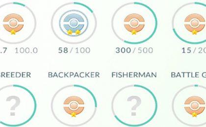 Pokemon Go medaglie: la lista completa