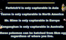Pokemon Go: dove trovare Tauros, Farfetchd, Mr. Mime e Kangasghan