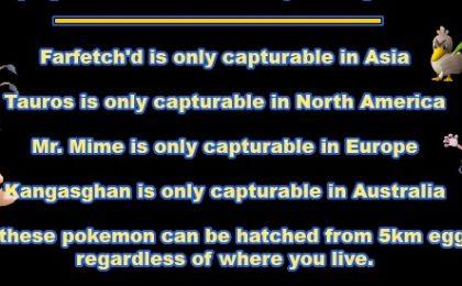 Pokemon Go: dove trovare Tauros, Farfetch'd, Mr. Mime e Kangasghan