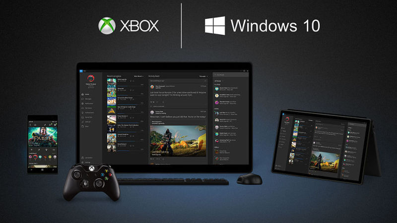 windows 10 su console e PC