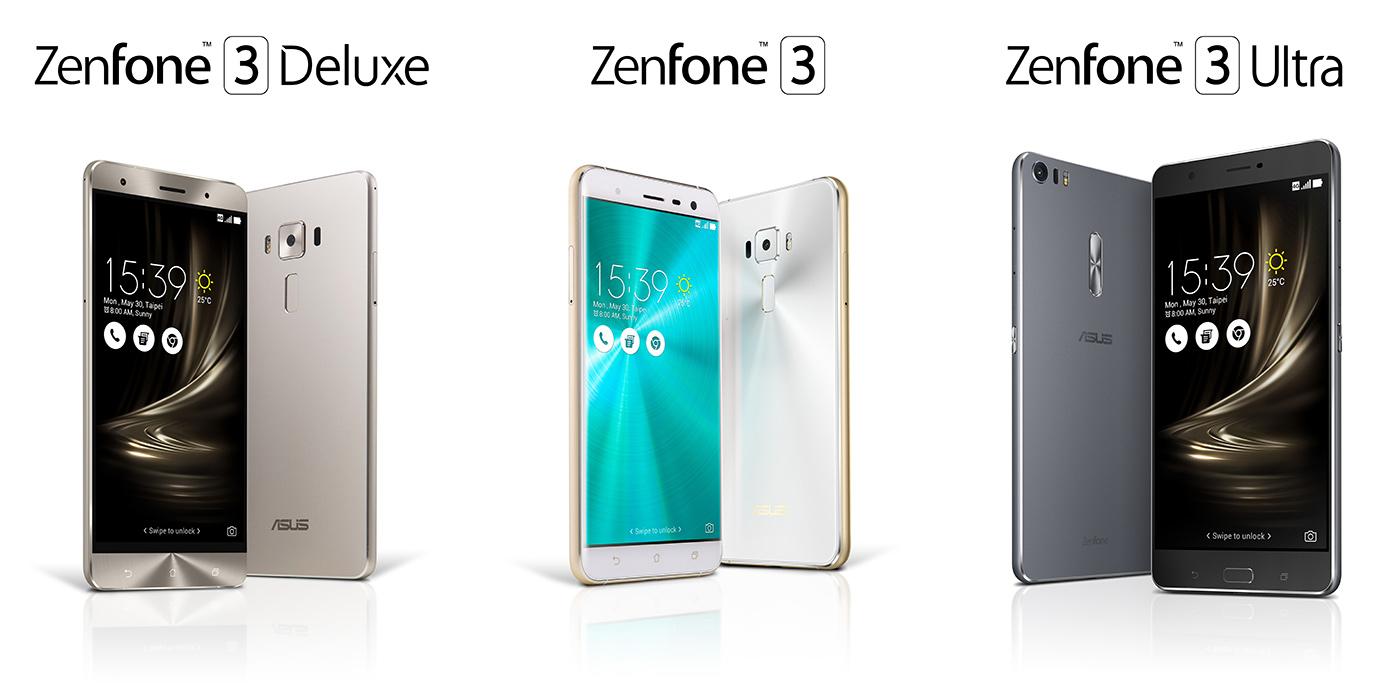 ASUS ZenFone 3 Family