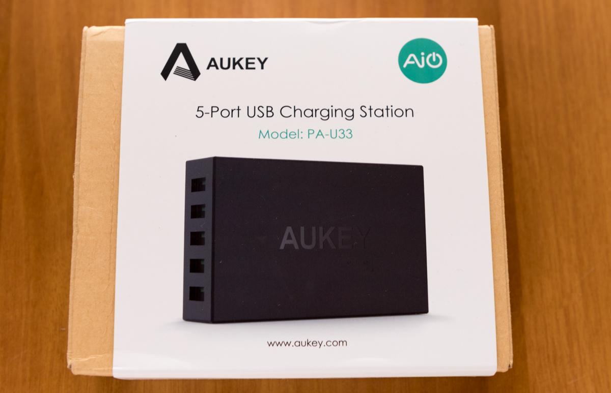 AUKEY PA U33 unboxing