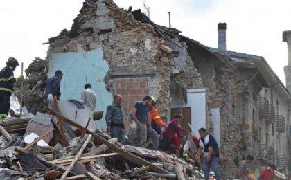 SMS al 45500 per il terremoto nel Lazio e Marche
