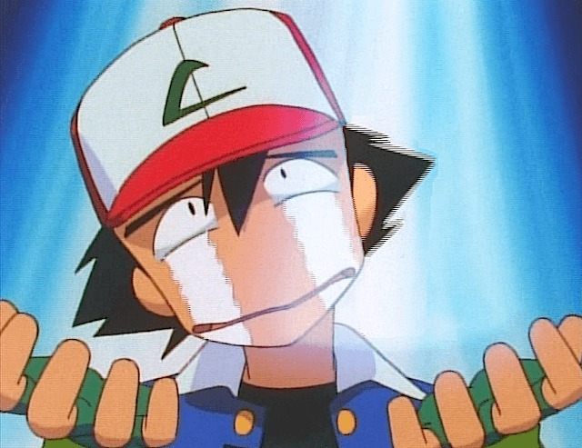 Ash piange