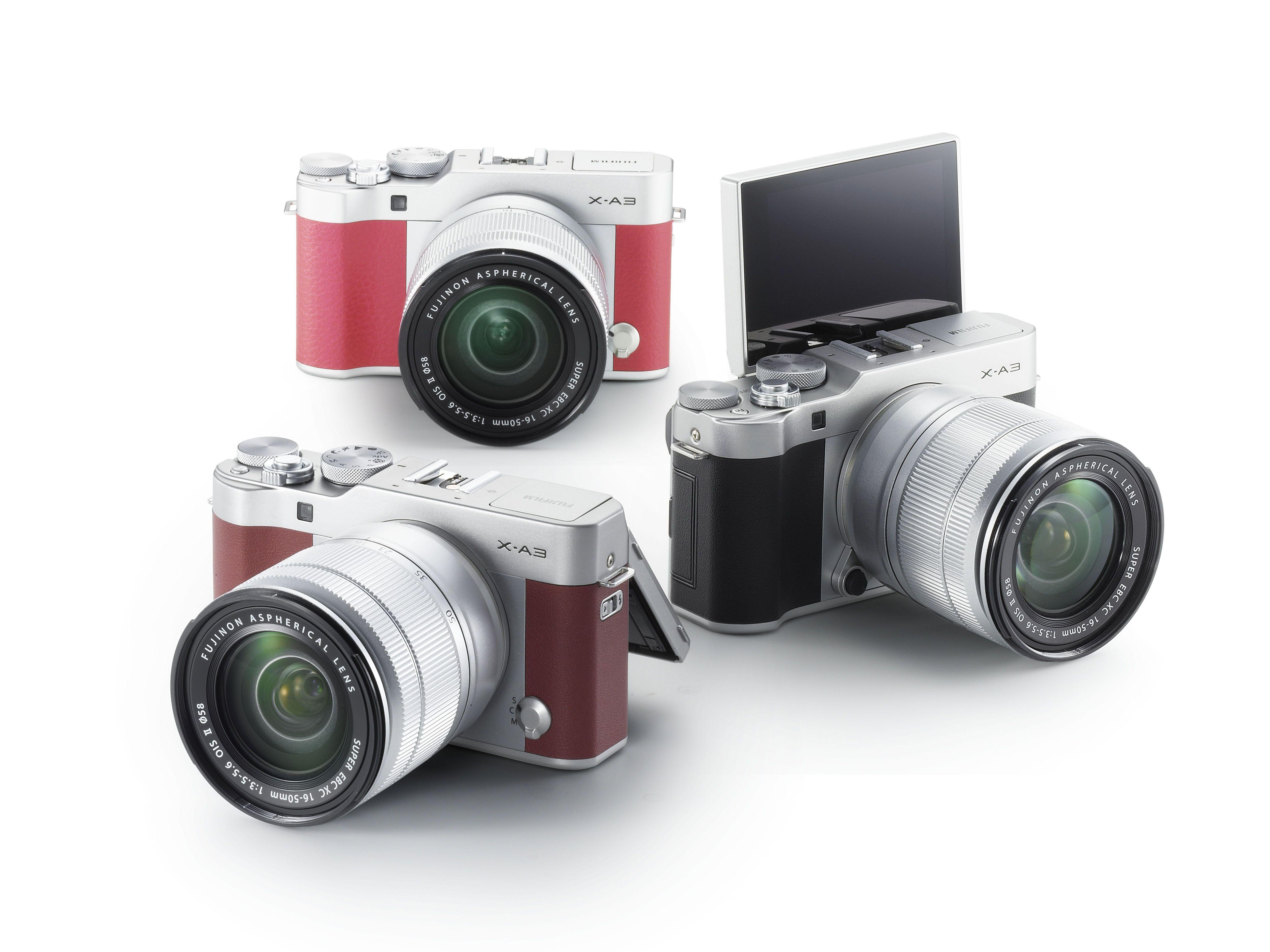 Fujifilm X A3 design