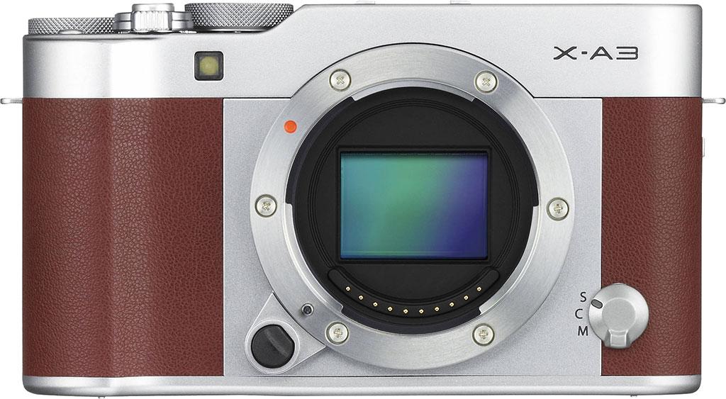 Fujifilm X A3 sensore