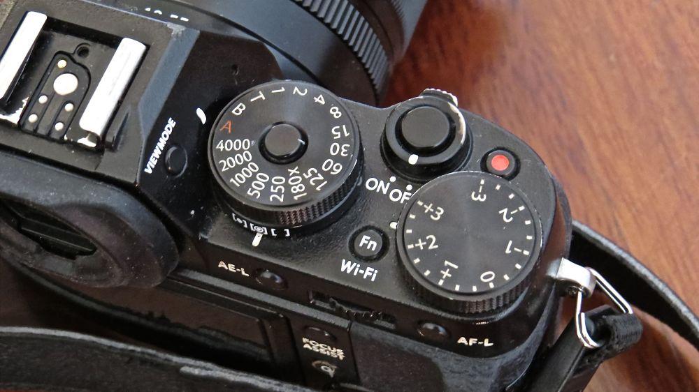 Fujifilm X T1 controlli
