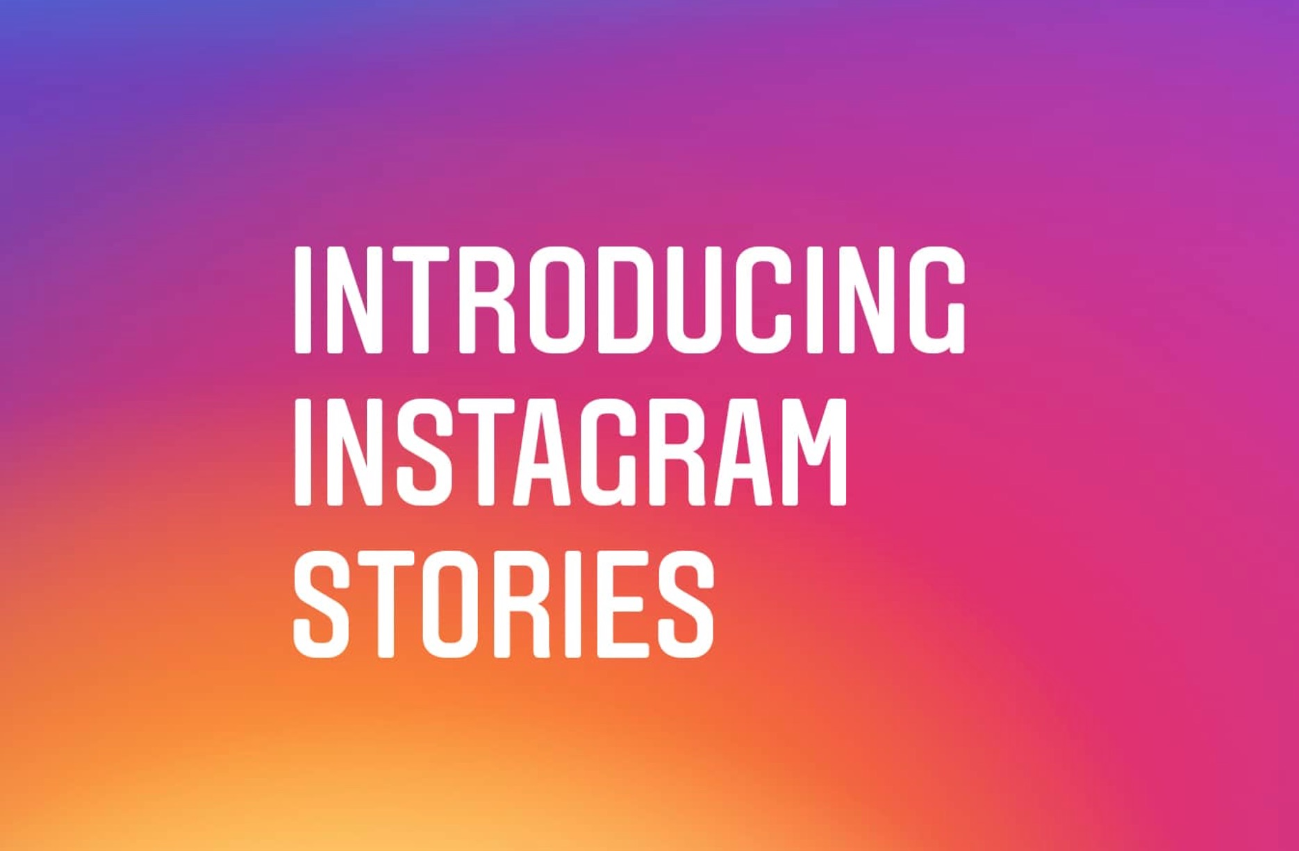 Instagram Stories cos'è