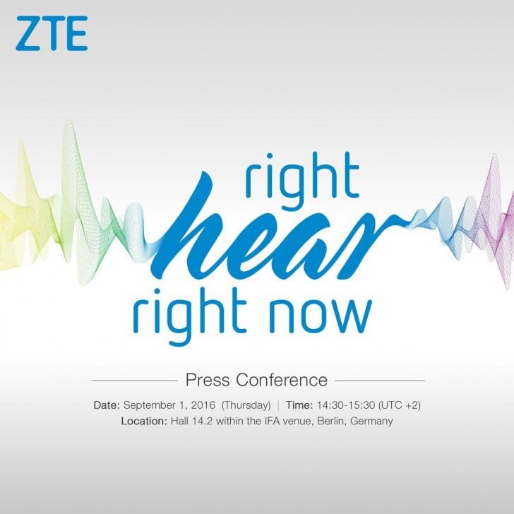 Invito ZTE IFA 2016