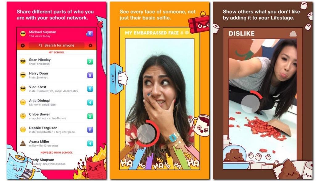 Facebook Lifestage, l'app vietata ai maggiori di 21 anni