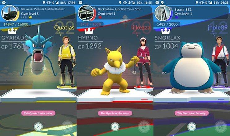 Pokémon Go palestra: cosa succede dopo le 21 ore a disposizione