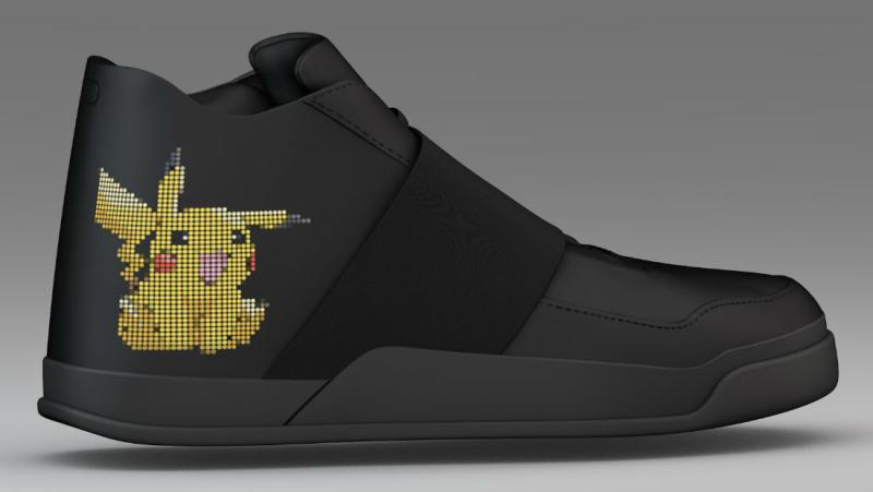 Pokemon Go smart sneaker