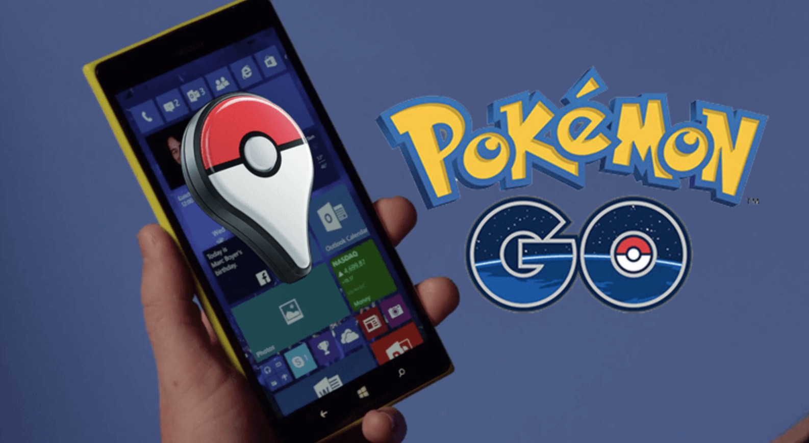 Pokemon Go su Windows Phone