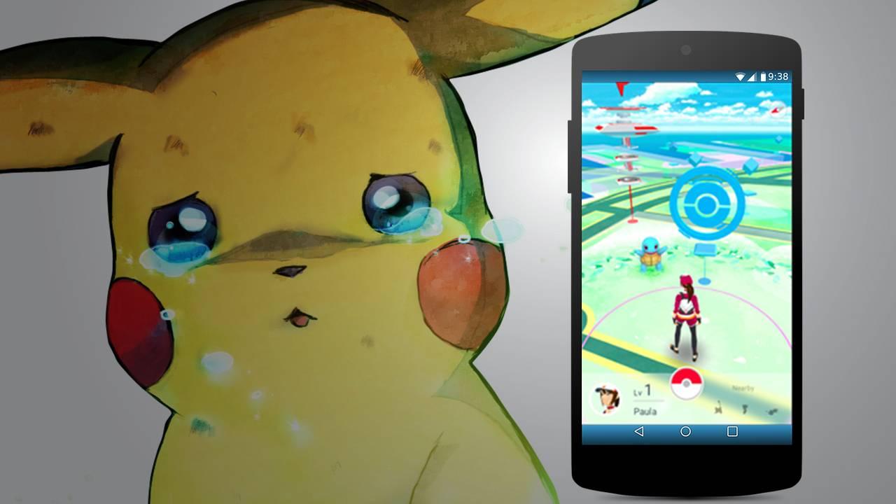 Pokemon Go su smartphone e tablet non compatibili