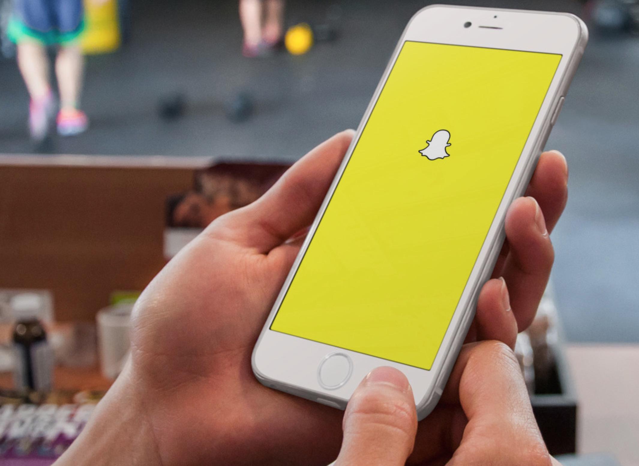 Snapchat Storia