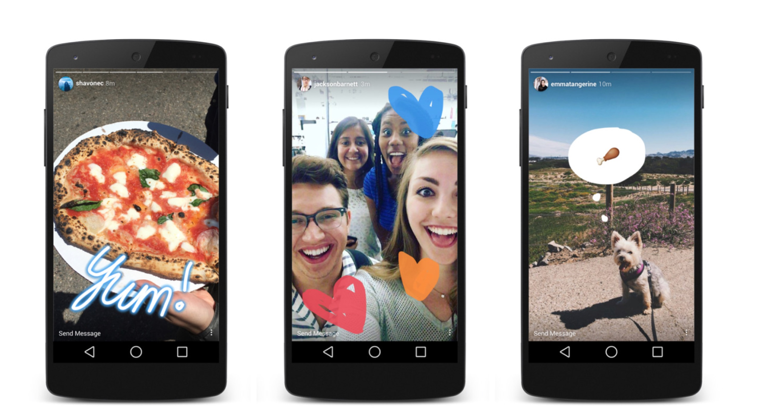 Storie Instagram su smartphone