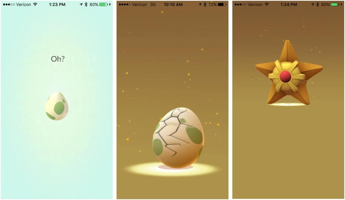 Pokemon Go, uova: le novità per schiuderle più facilmente