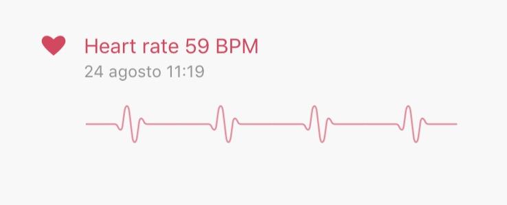 Xiaomi MiBand 2 MiFit pulsazioni cuore