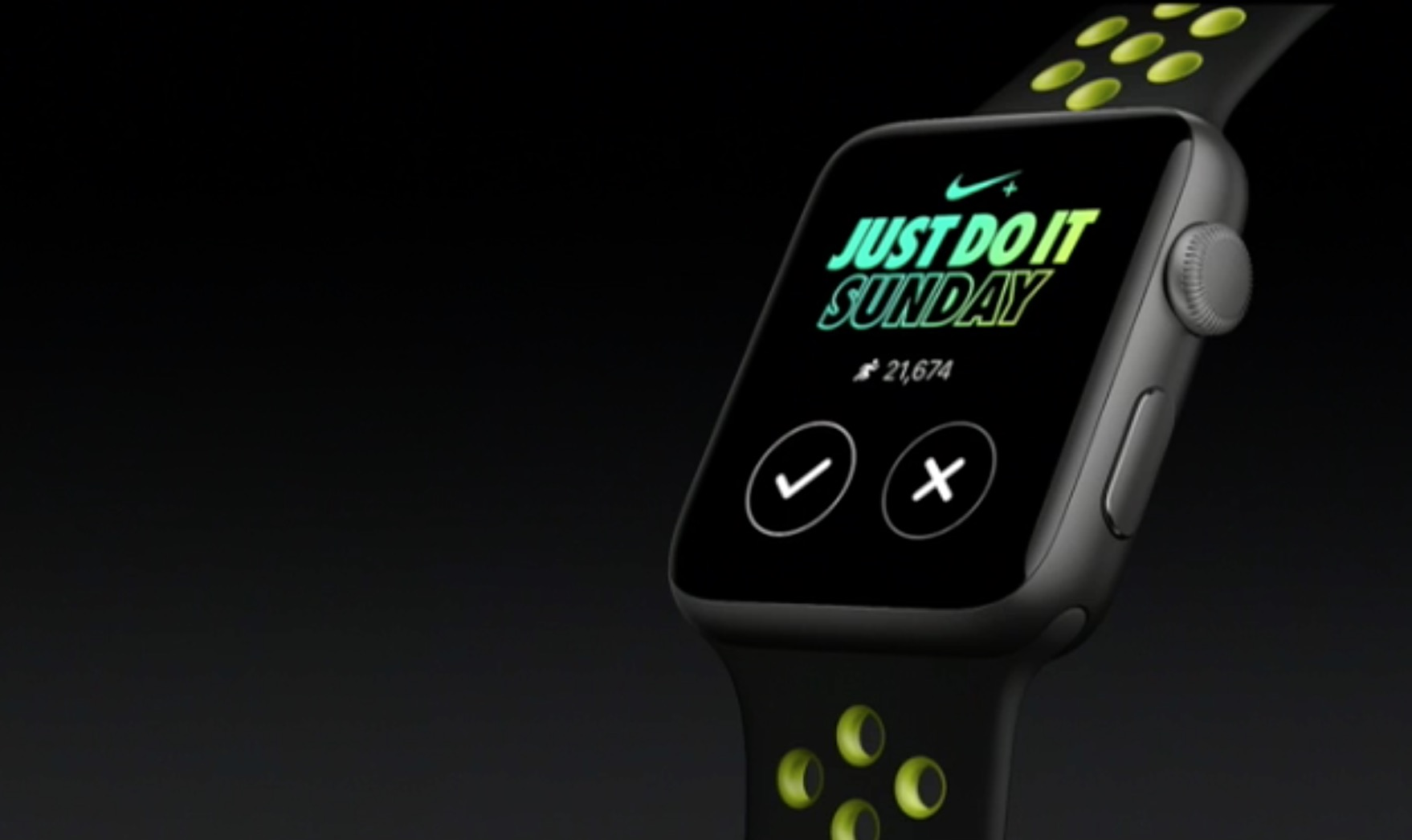 Apple Watch 2 Just Do It Sunday