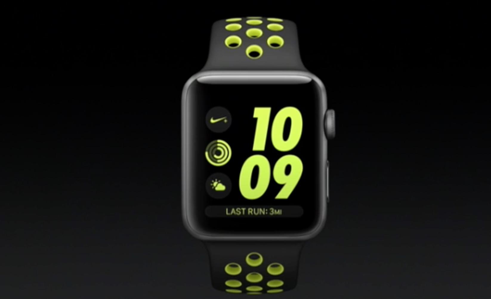 Apple Watch 2 Nike+ versione