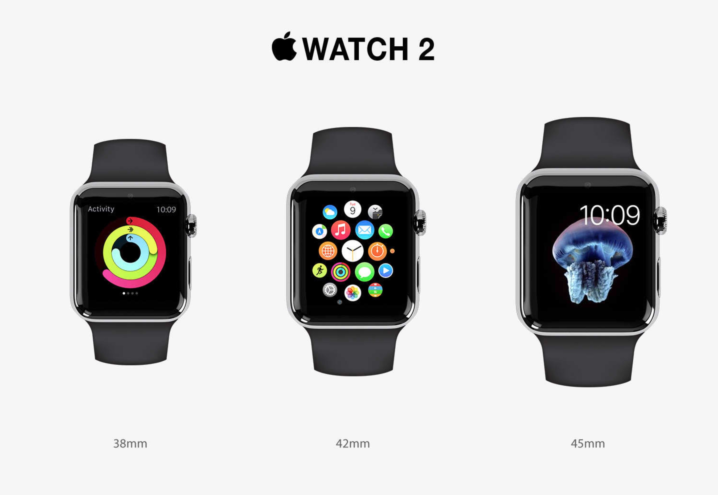 Apple Watch 2 dimensioni quadrante