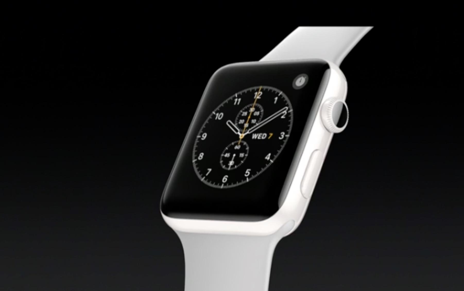 Apple Watch 2 in ceramica
