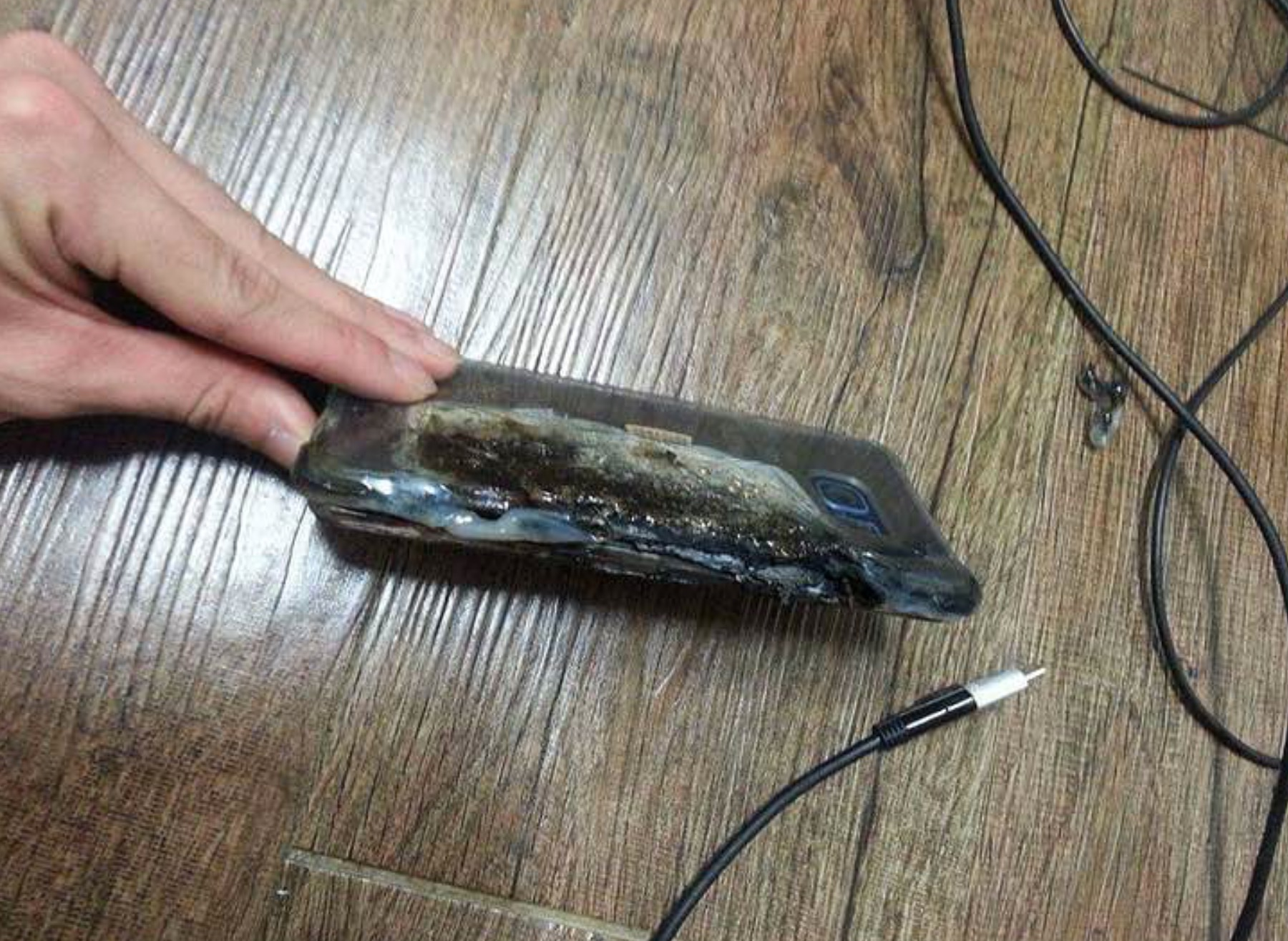Cavo e parte alta Galaxy Note 7