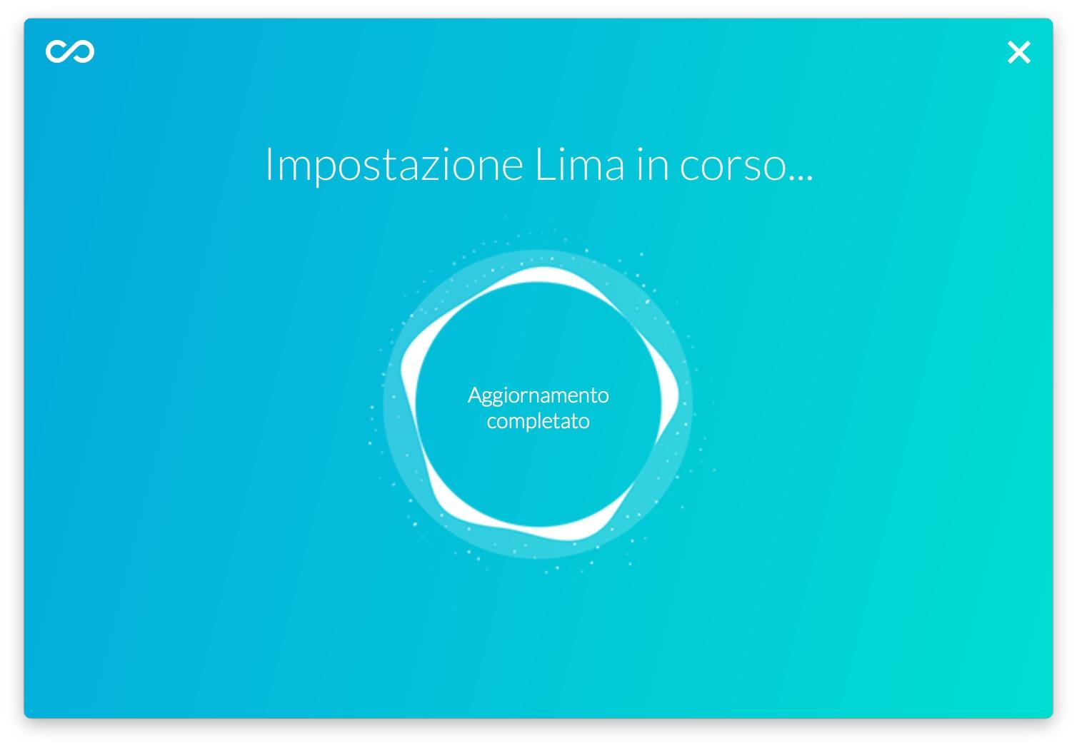 Configurazione Lima
