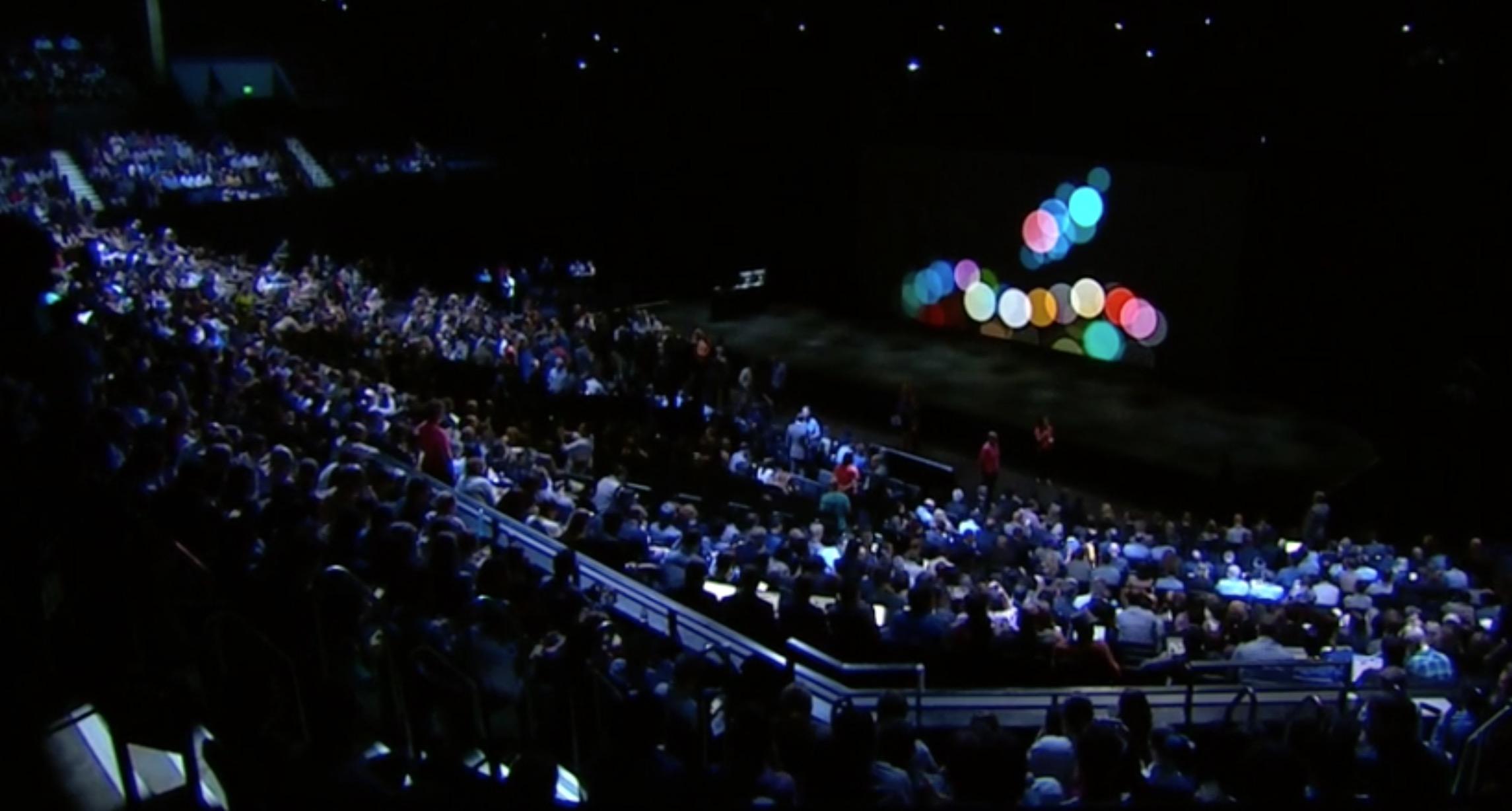 Evento Apple iPhone 7 e Apple Watch 2