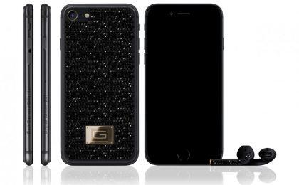 iPhone 7 Gresso Black Diamond: la versione con oro e diamanti