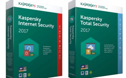 Kaspersky Internet Security e Total Security 2017: protezione per tutta la famiglia