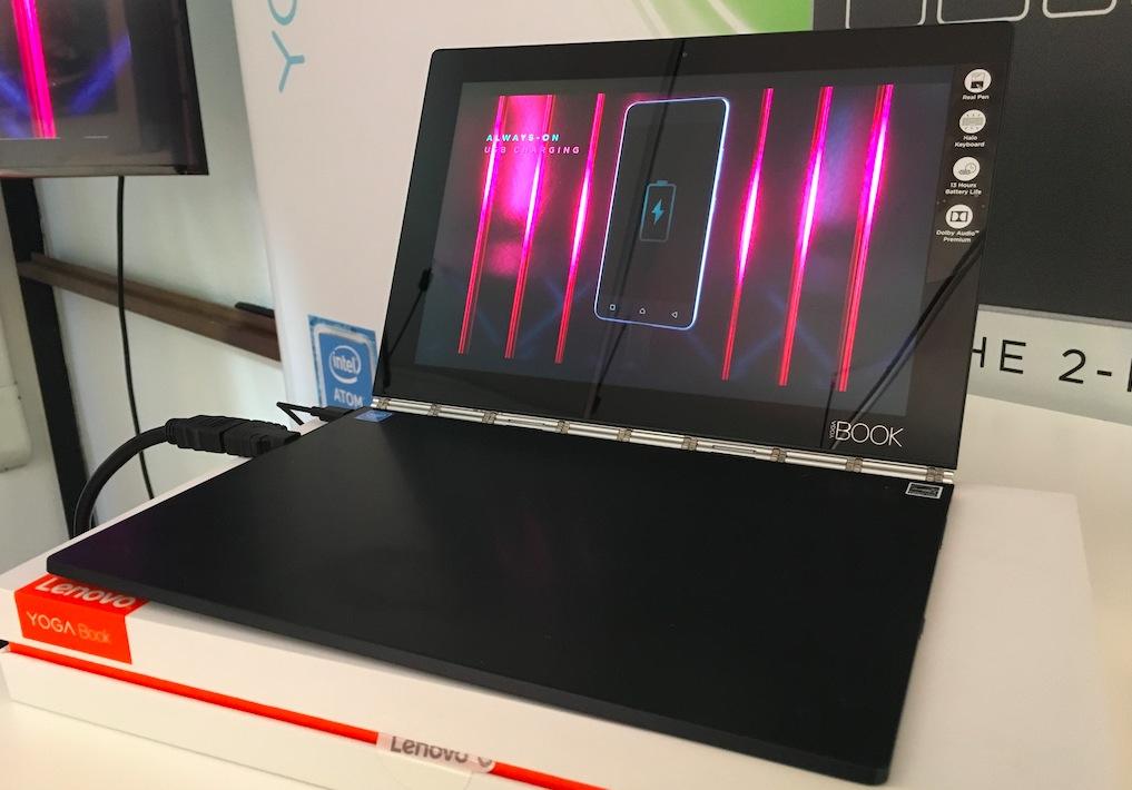 Lenovo Yoga Book, il tablet 2-in-1 più sottile e leggero al mondo