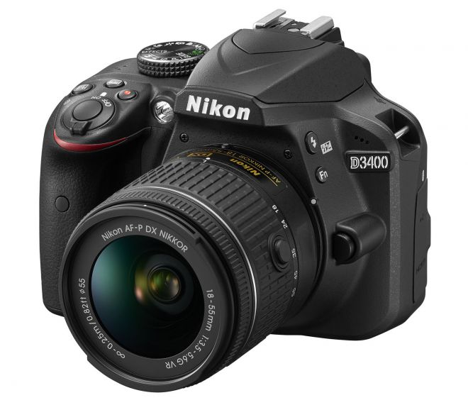 Nikon D3400 in uscita in Italia: prezzo e scheda tecnica