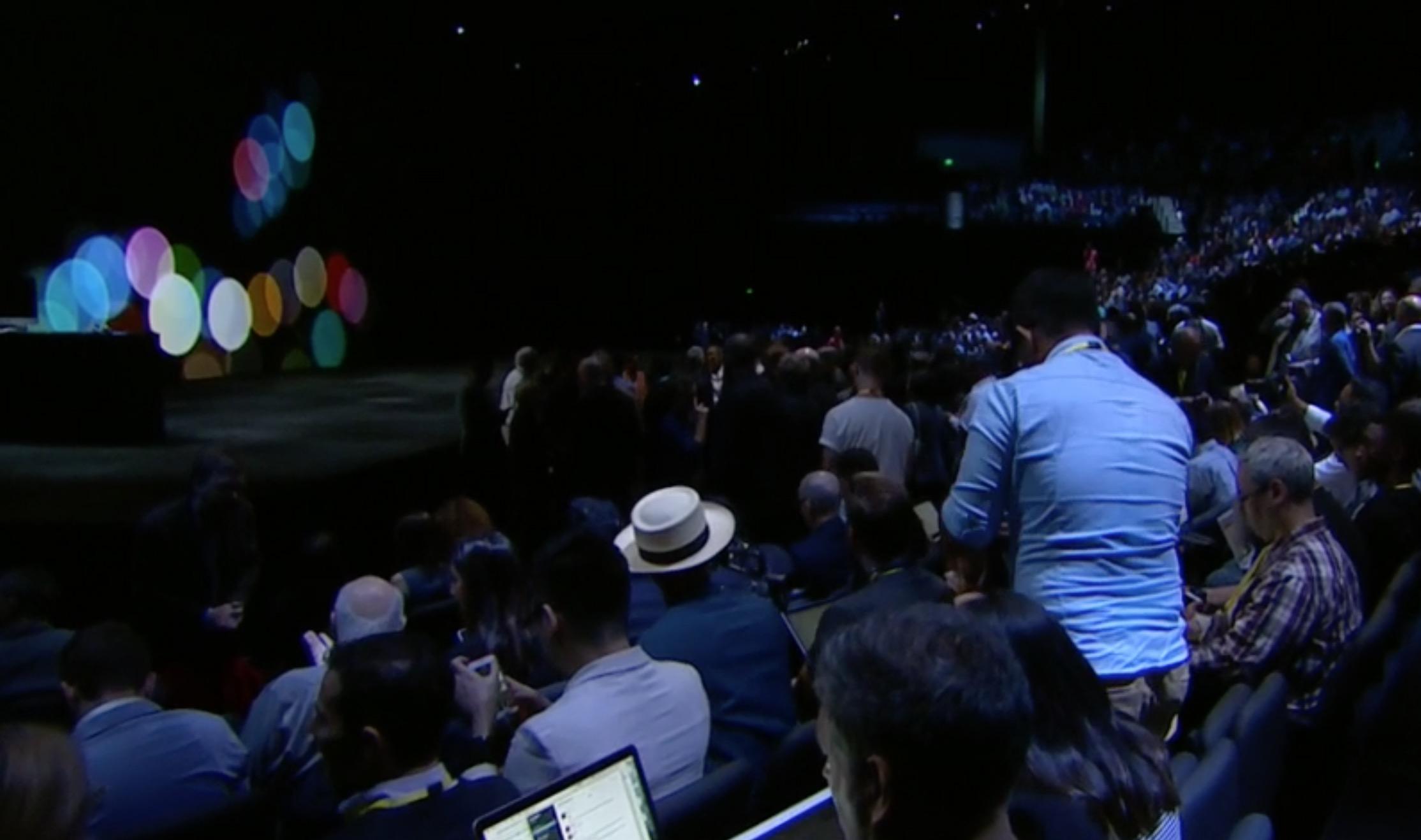 Palcoscenico Apple evento 7 settembre