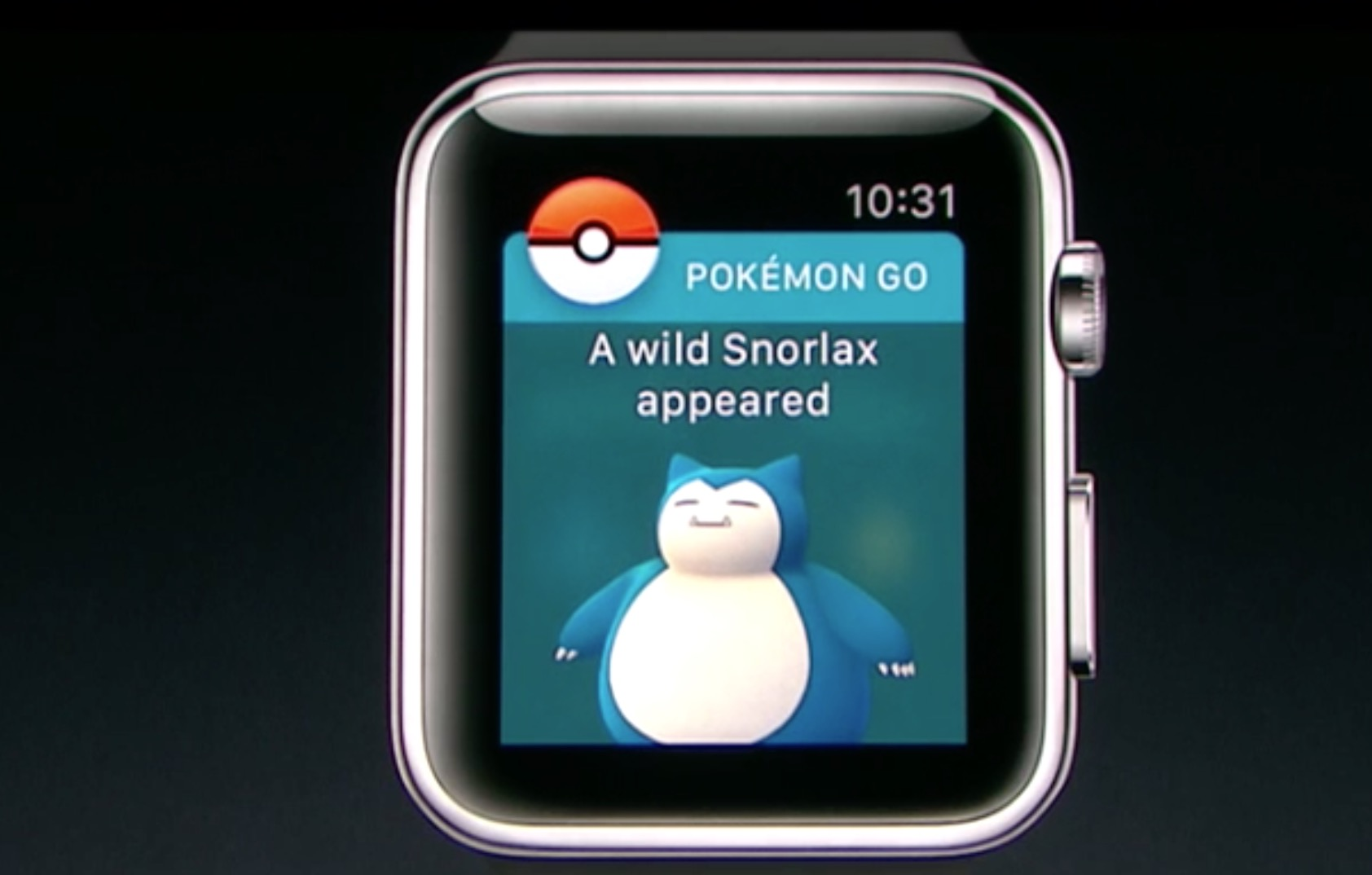Pokemon Go Snorlax Apple Watch