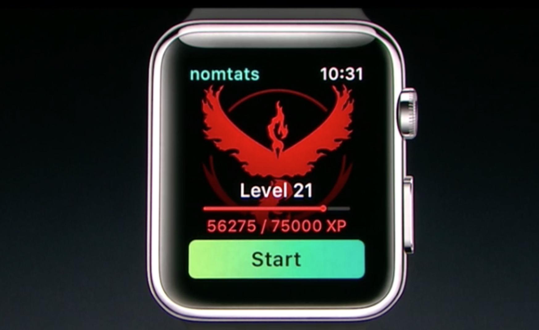 Pokemon Go su Apple Watch