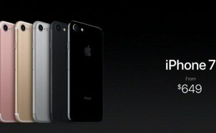 iPhone 7: il prezzo ufficiale del melafonino