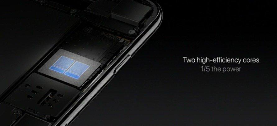 Processore quad core iPhone 7