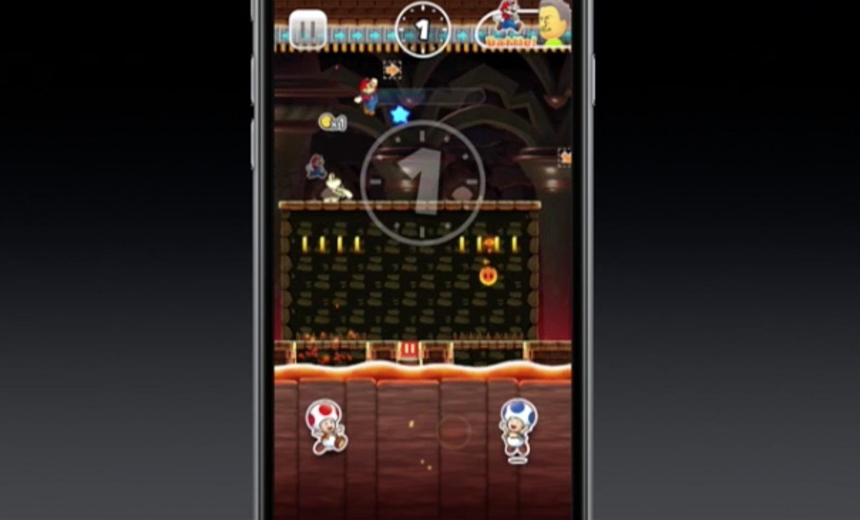 Screenshot Super Mario Bros su iPhone