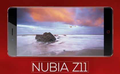 Nubia Z11: uscita, prezzo e caratteristiche