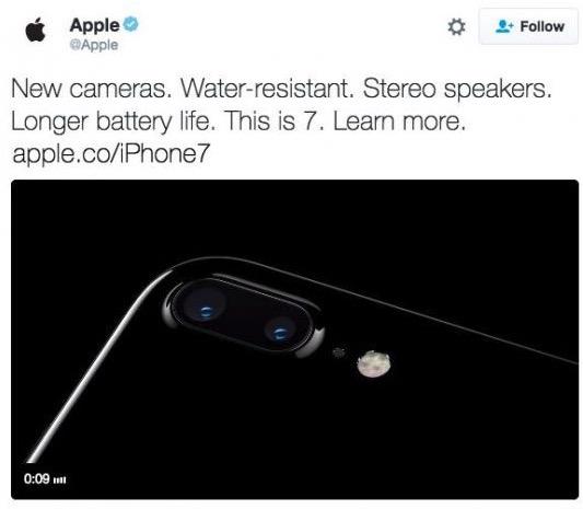 iPhone 7 Apple Twitter